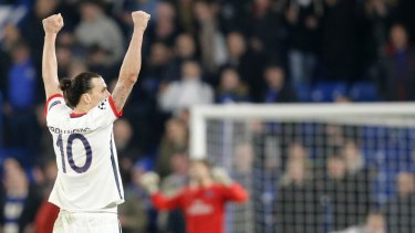 Zlatan Ibrahimovic says he would stay if a statue of him was put up in place of the Eiffel Tower.