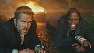 The Hitman's Bodyguard  pairs Ryan Reynolds (left) as a bodyguard with Samuel L. Jackson's invincible hitman.