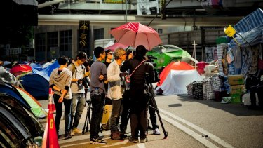 Christopher Doyle, Australian cinematographer and filmmaker, has made a feature film, <i>Hong Kong Trilogy: Preschooled Preoccupied Preposterous</i> about Hong Kong's umbrella protest movement.