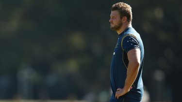 Scrumming good: Wallabies prop James Slipper is confident the Australian scrum will be firing in time for the World Cup.