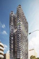 The $70 million development will be 30-storeys high.