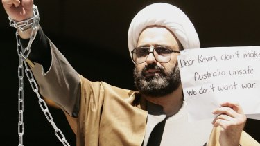 Man Haron Monis attracted the attention of the FBI years before the Sydney siege.