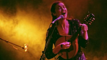 Lisa Hannigan may start with folk but she explores beyond that.