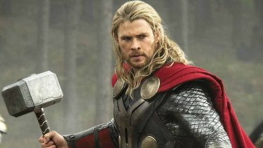 Chris Hemsworth as Thor, the latest instalment of which has come under fire.