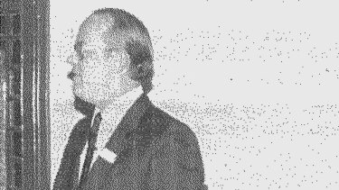 Dr Peter Macarthur in a picture from The Armidale School newsletter Binghi in December 1983.