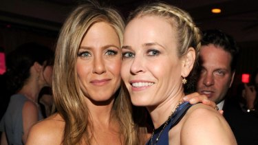 As the world waits with bated breathe for Jennifer Aniston's first reaction, her BFF Chelsea Handler may have given some insight.