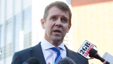 NSW Premier Mike Baird is suffering a voter backlash.