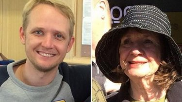 The Australian victims of the plane crash Carol Friday and son Greig.
