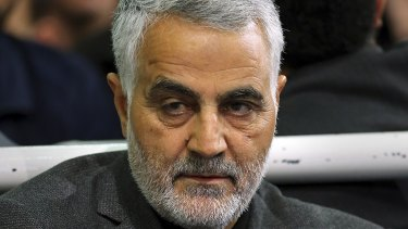 Iran's top general, Qassem Soleimani, commander of the Quds Force, has played a key role in organising military support for Syrian President Bashar al-Assad.