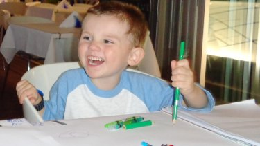 A newly released image of missing boy William Tyrrell.
