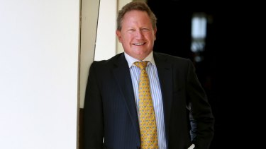Andrew 'Twiggy' Forrest has been recognised.