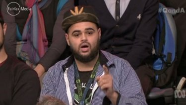 Zaky Mallah's controversial appearance on Q&A in 2015.