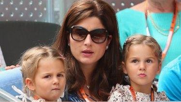 Australian Open 2016 Roger Federer S Children Offer Dad Some Coaching Tips