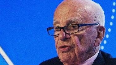 """See you next year I hope,"" Rupert Murdoch faced a shareholder revolt at the News Corp AGM."