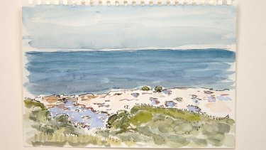 <i>Bundeena</i>, from <i>Seven Walks</i>, by Tom Carment and Michael Wee.