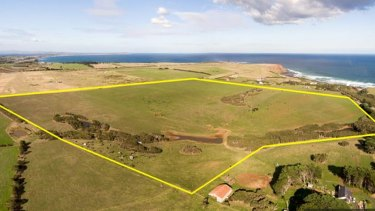 The block of land on Phillip Island for which the medical facility is proposed.