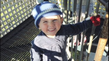 William was playing in the backyard of his grandmother's Kendall home when he vanished last September.