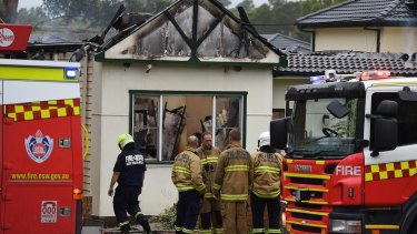 Two people have been killed in a house fire in Penshurst.