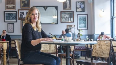 """Leah MacLean says she dines alone during the day for """"me time""""."""