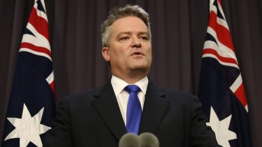 "Finance Minister Mathias Cormann would not repeat Malcolm Turnbull's assertion that ""increasing capital gains tax is no part of our thinking whatsoever""."