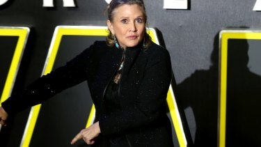 Carrie Fisher died after suffering a heart attack on a flight to Los Angeles.