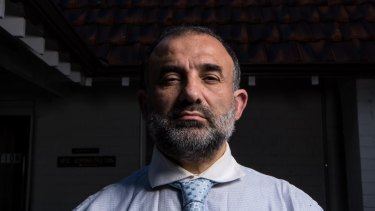 AFIC president Keysar Trad has not been able to enter the Zetland offices since last Monday.