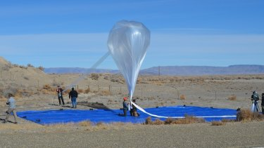 A balloon that is part of Google X's Project Loon program.