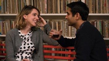 Zoe Kazan as Emily and Kumail Nanjiani as Kumail are natural ironists in 'The Big Sick'.