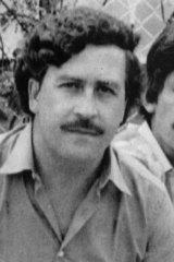 Escobar in 1983.