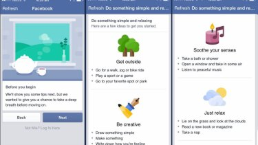 Tips Facebook will offer people who have been flagged by their friends as going through a difficult time.