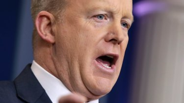 """""""If they don't like it, then they shouldn't take the job"""" White House press Secretary Sean Spicer said of administration officials."""