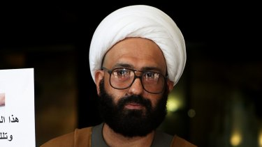 "Man Haron Monis asked Koch, ""Are you a terrorist?"" in 2008."