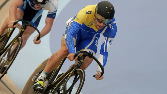 Canberra cyclist Nathan Hart gunning for gold at Gold Coast Commonwealth Games