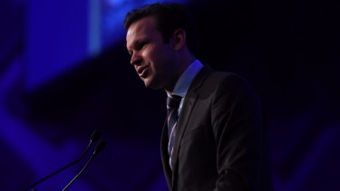 """Liberal Senator Matt Canavan says the 'yes' side """"wants to make it illegal just to express a different view about marriage""""."""