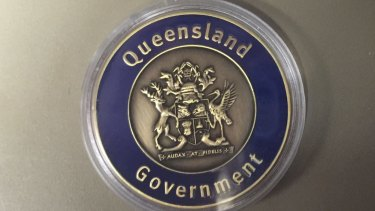 Hundred of medallions cast by the Newman Government have been found.