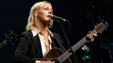 Laura Marling performing at Vivid 2017.