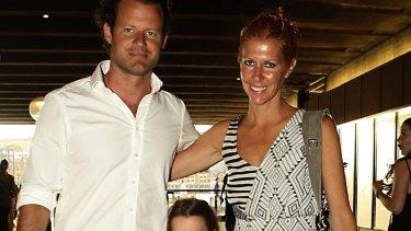 Nicholas Plowman and Heidi Middleton in happier times.