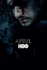 Jon Snow as seen in a <i>Game of Thrones</i> season six poster released by HBO.