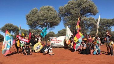 Protesters from across the world joined the walkabout protest.