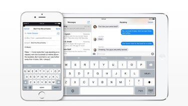 Apple iOS 8's new keyboard should up your grammar game.