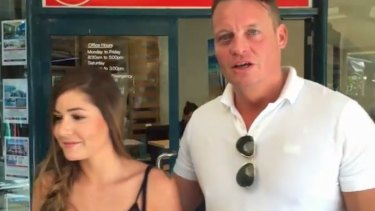Alizee Michel and Andy Sellar come clean about the Sunshine Coast viral hoax video.