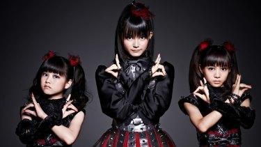 Babymetal, the Japanese band with cute and heavy in equal measure.