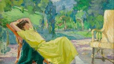 Bessie Davidson's La robe Jaune (1931).