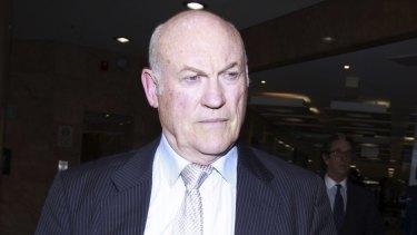 Prosecuted for misconduct: Ian MacDonald.