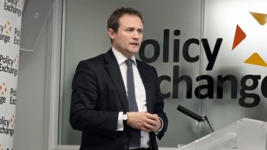Conservative MP and chairman of the British Parliament's foreign affairs committee, Tom Tugendhat.