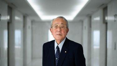 Kazuo Inamori, founder and chairman emeritus of Kyocera Corp