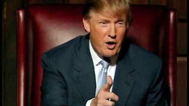 Trump firing a contestant in an earlier season of </i>The Apprentice</i>