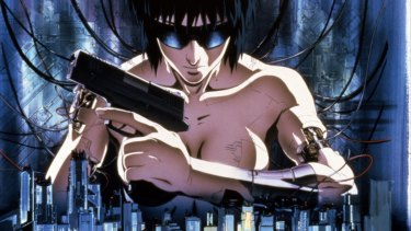 Machines possess human consciousness is the 1995 animated film <i>Ghost in the Shell</i>.