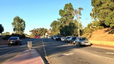 Roadblocks have been set up on Great Northern Highway and Swan Road as emergency personnel swoops the area.