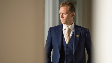 Tom Hiddleston in BBC's <i>The Night Manager</i>, the screen adaptation of John le Carre's novel.